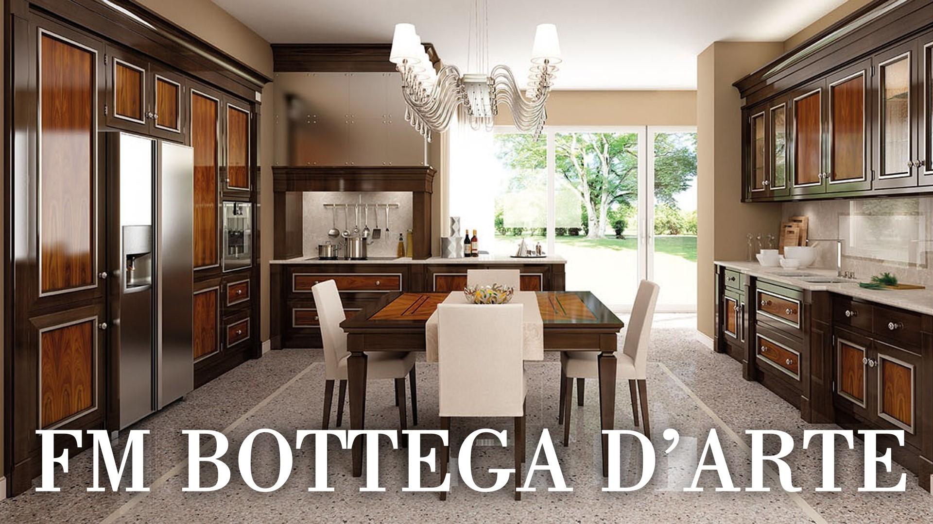 Кухни FM bottega d\'Arte – купить итальянскую кухню FM bottega d\'Arte в  Москве