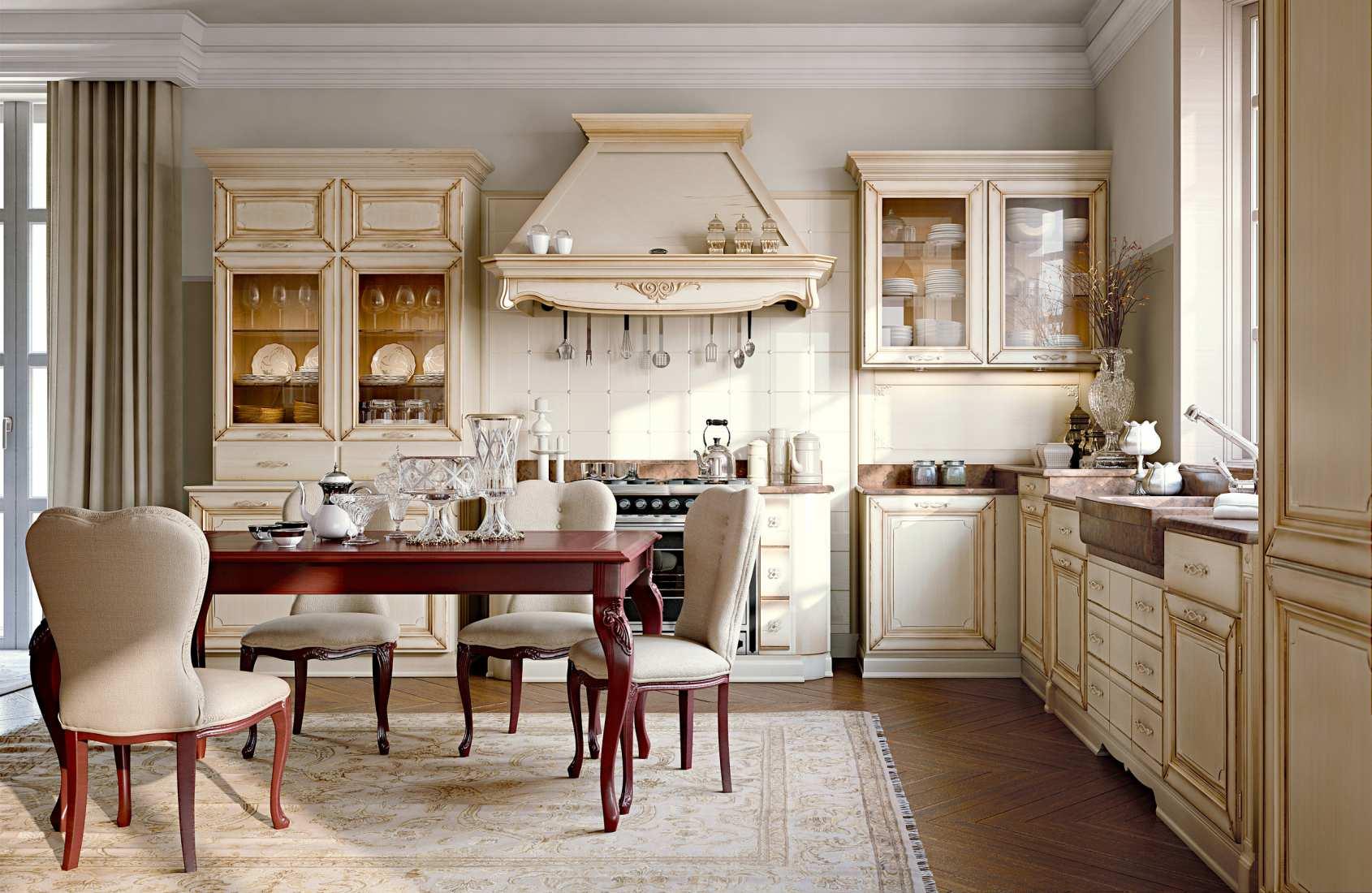 итальянские кухни классика фото эта информация появилась