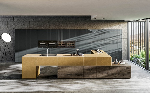 Lago 36e8 Metal XGlass Kitchen