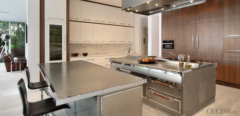 Кухня Officine Gullo Stainless Steel Pchr из Италии, купить ...